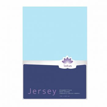 FIX JERSEY LOTUS COMFORT BLUE CIEL