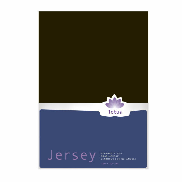FIX JERSEY LOTUS COMFORT MARRON