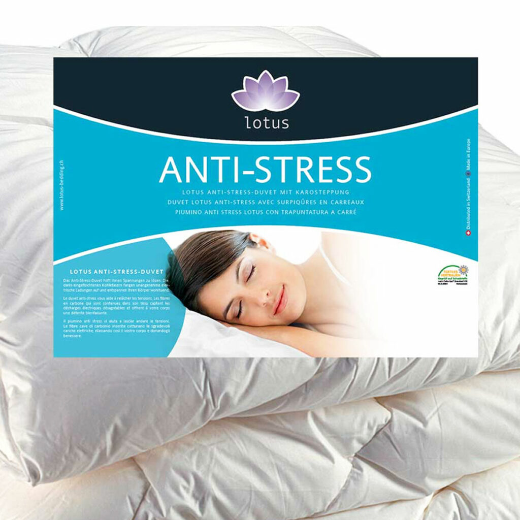 Piumino LOTUS anti-stress
